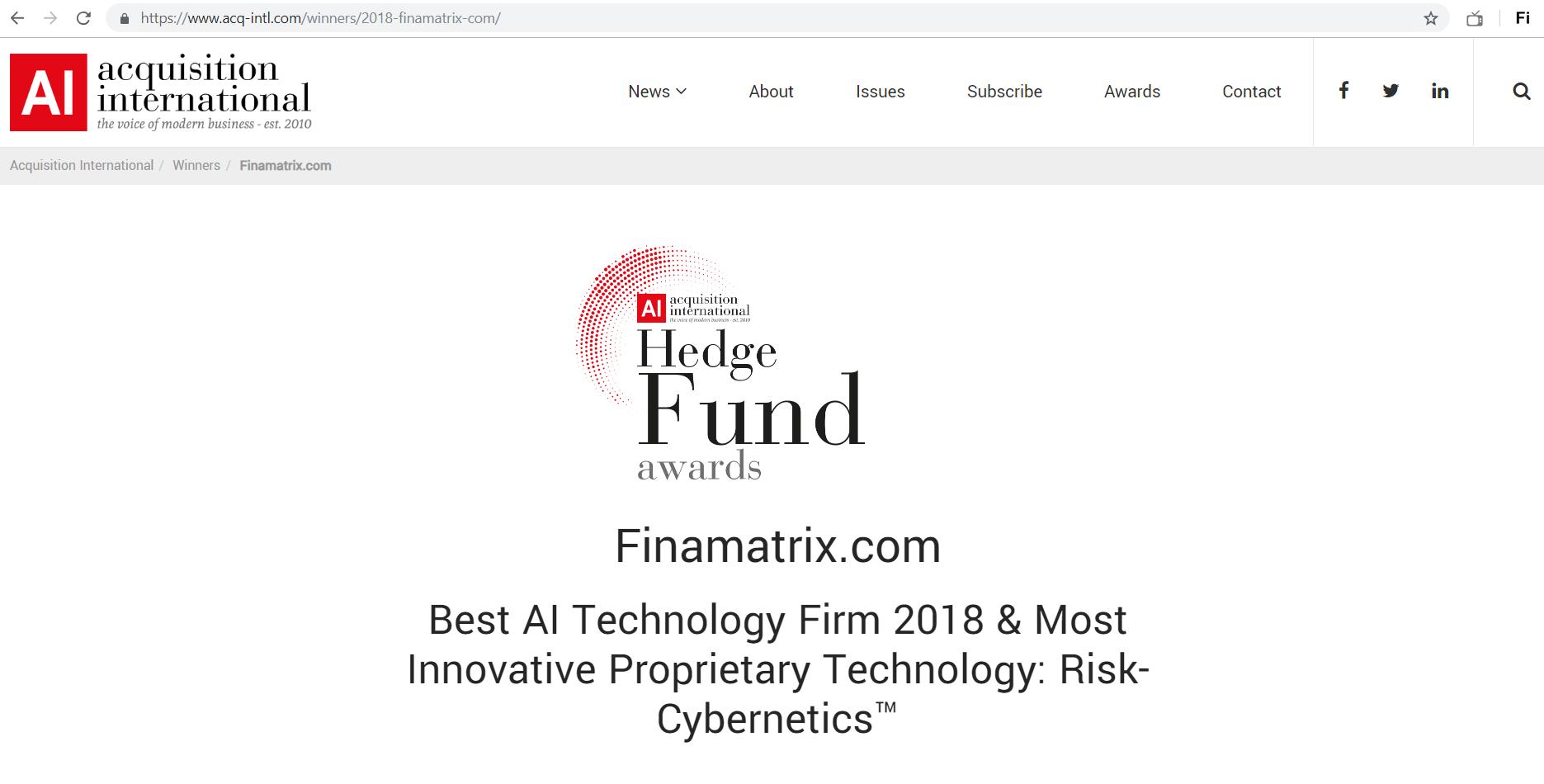 Finamatrix-AIGlobal-2018